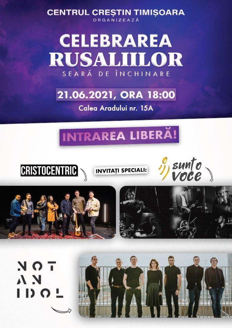 Rusalii 2021, Concert, Centrul Crestin Timisoara